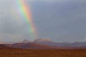 Rain, Damaraland, Namibia