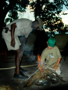 Making Fire Botswana Young Explorers